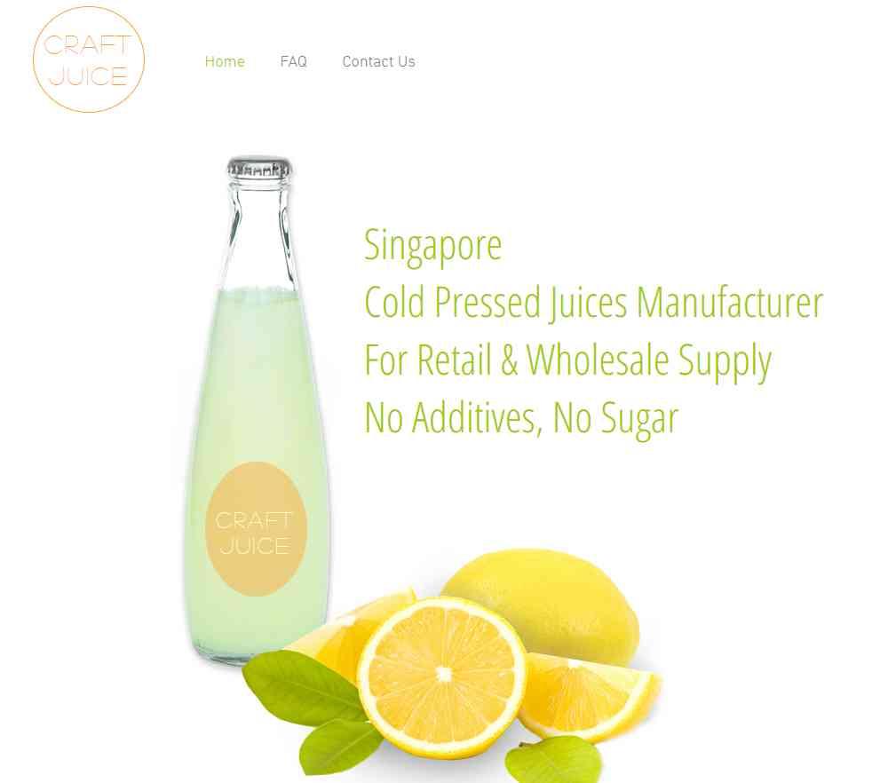craft juice Top Juice Retailers in Singapore