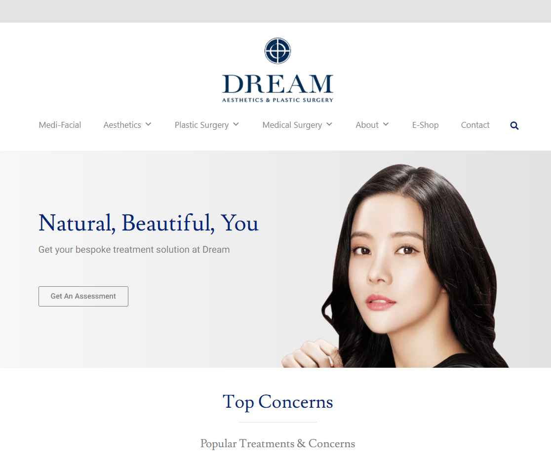 dream plastice surgery Top Breast Implant Clinics in Singapore