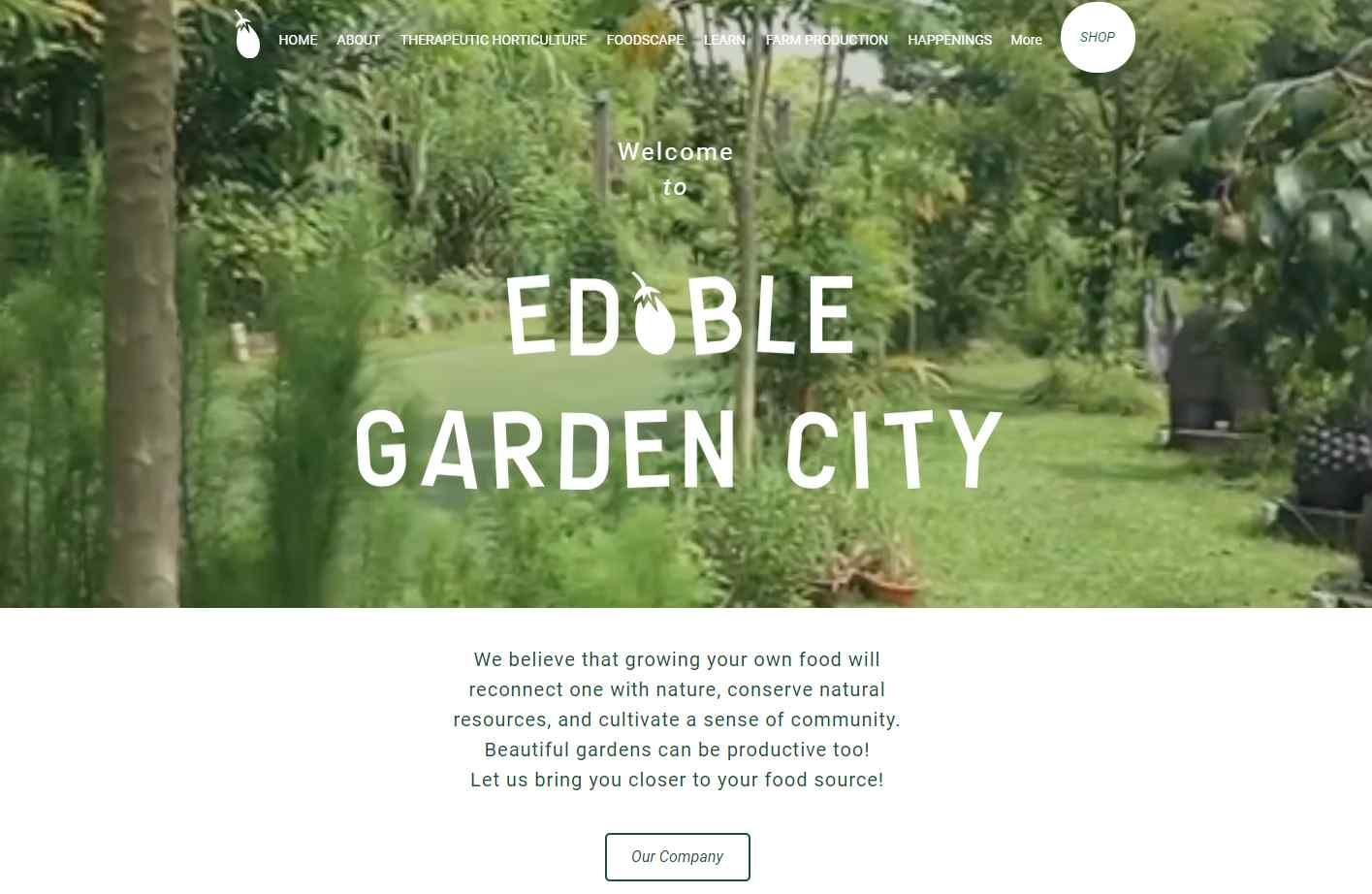 edible garden city Top Horticulture Services in Singapore