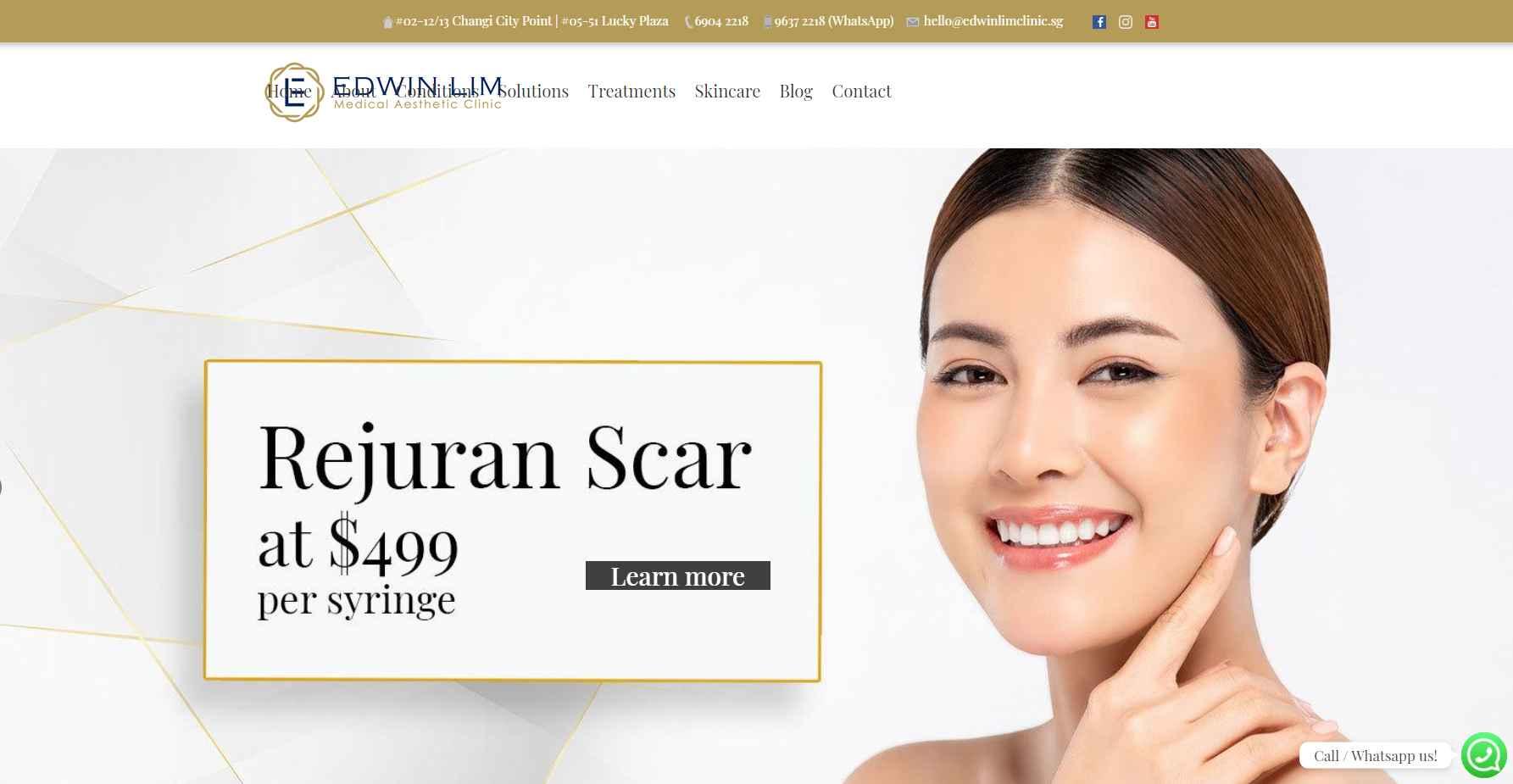 edwin lim clinic Top Botox Clinics in Singapore