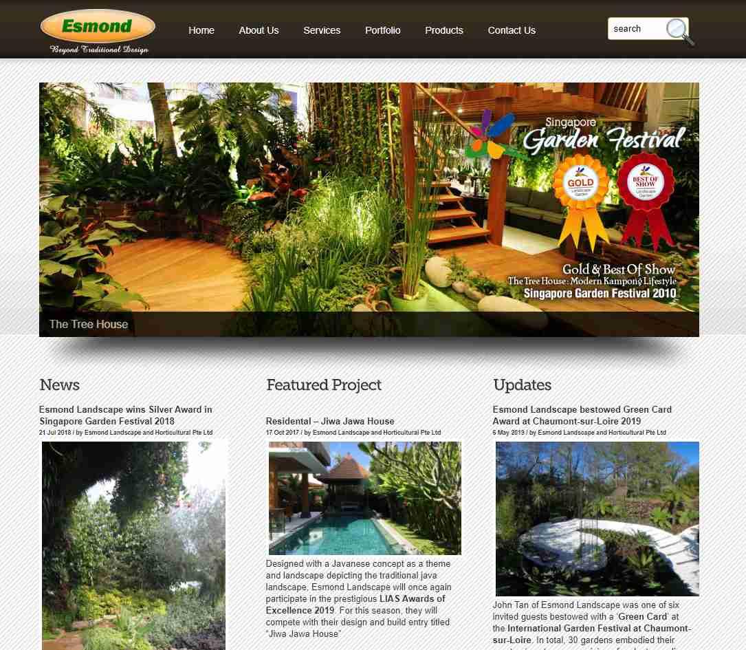 esmond Top Horticulture Services in Singapore
