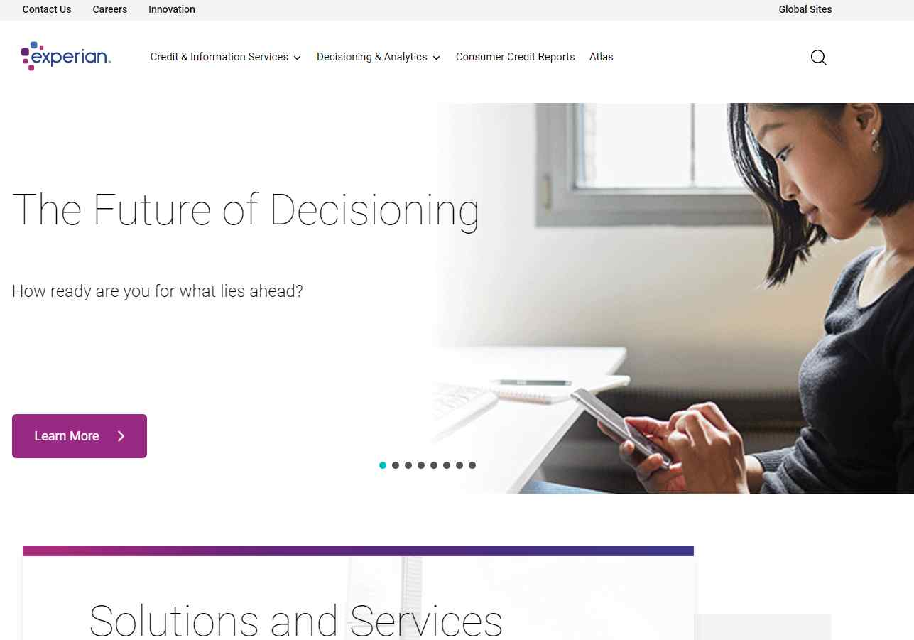 experian Top Business Analytics Service Providers Singapore