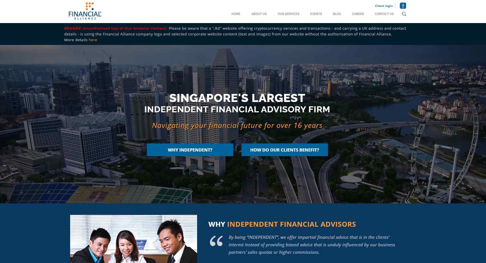 fa Top Financial Advisors in Singapore