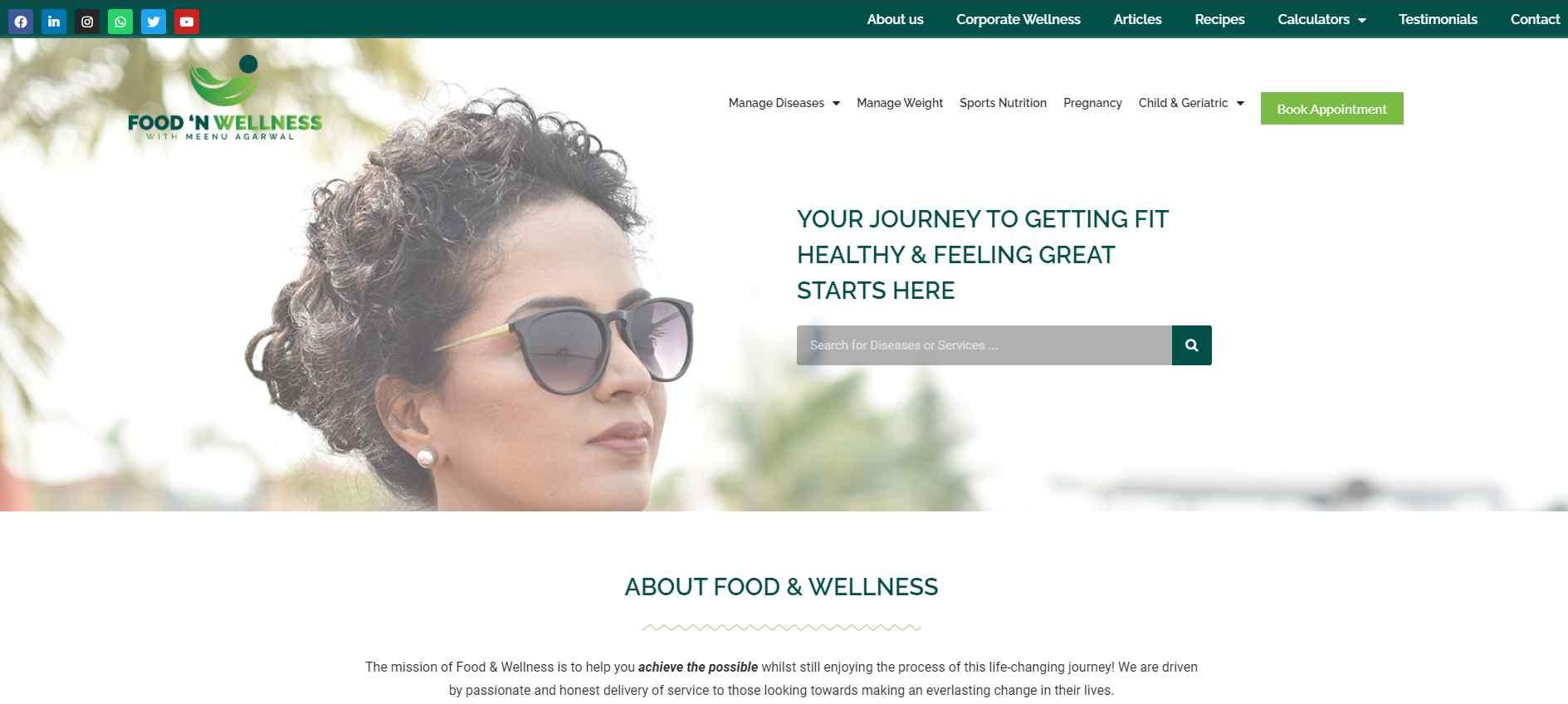food n wellness Top Dieticians in Singapore