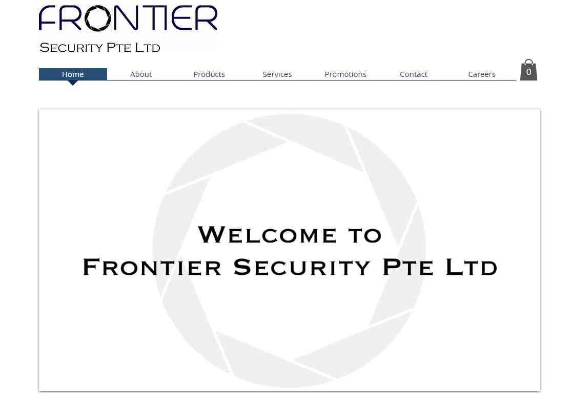 frontier Top Home Security Systems in Singapore
