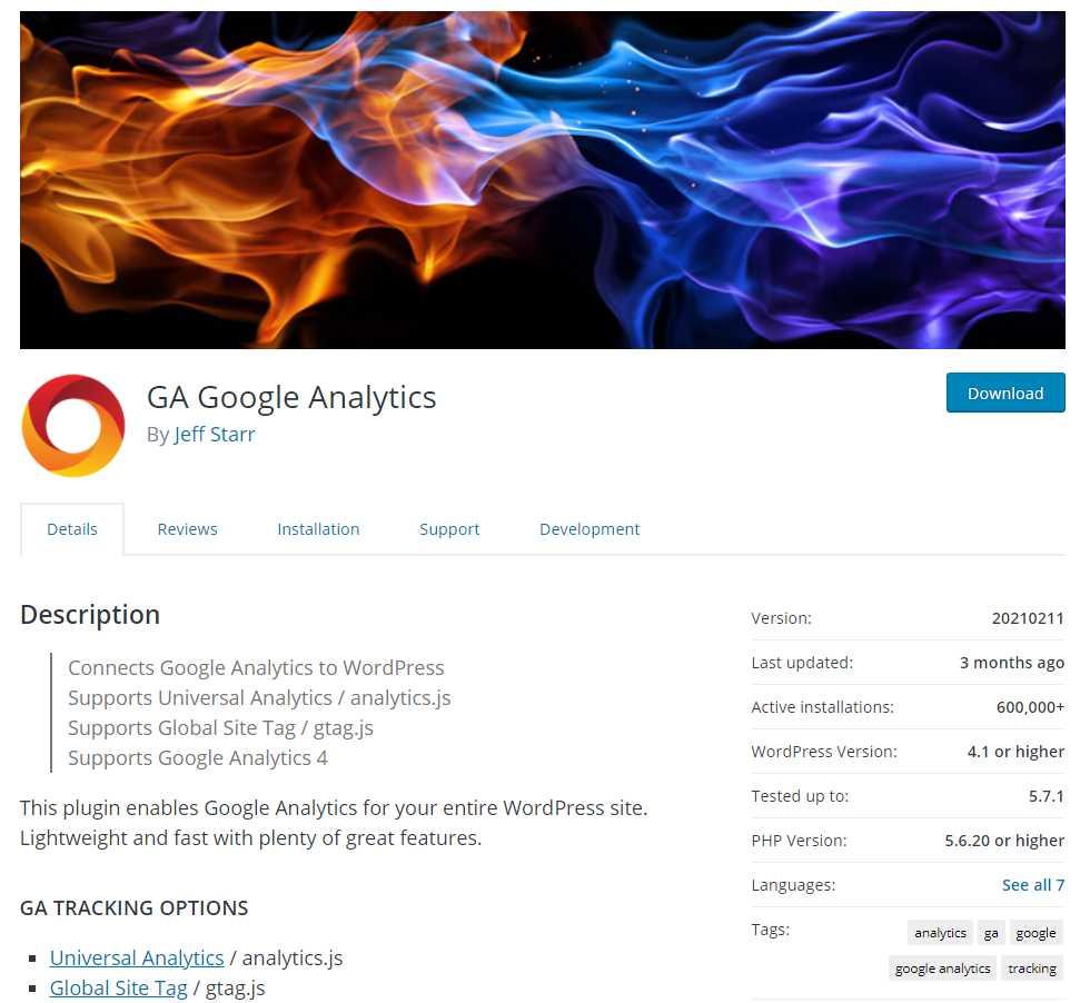 google analytics Top 20 SEO Friendly WordPress Plugins