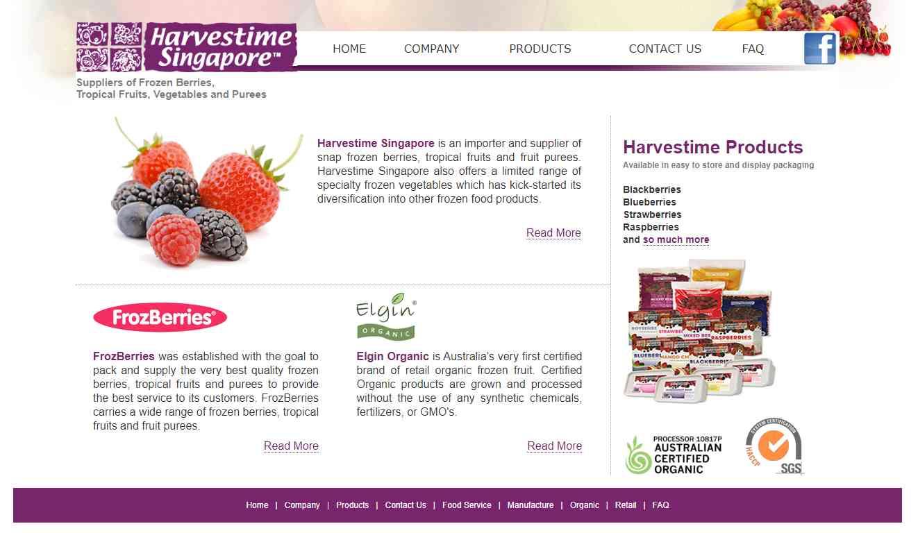 harvestime singapore Top Juice Retailers in Singapore