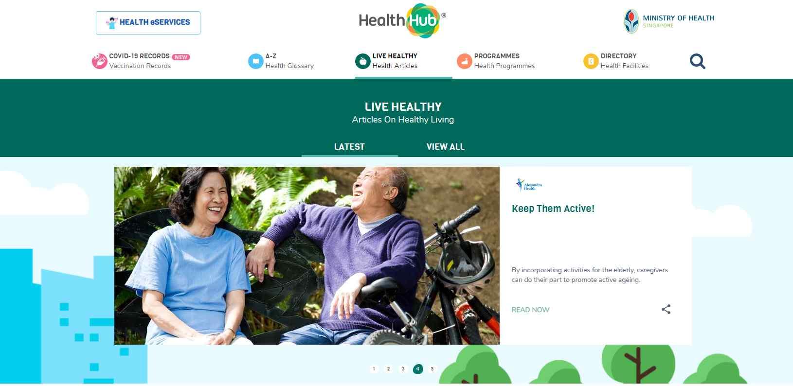 health hub Top Health Blogs in Singapore