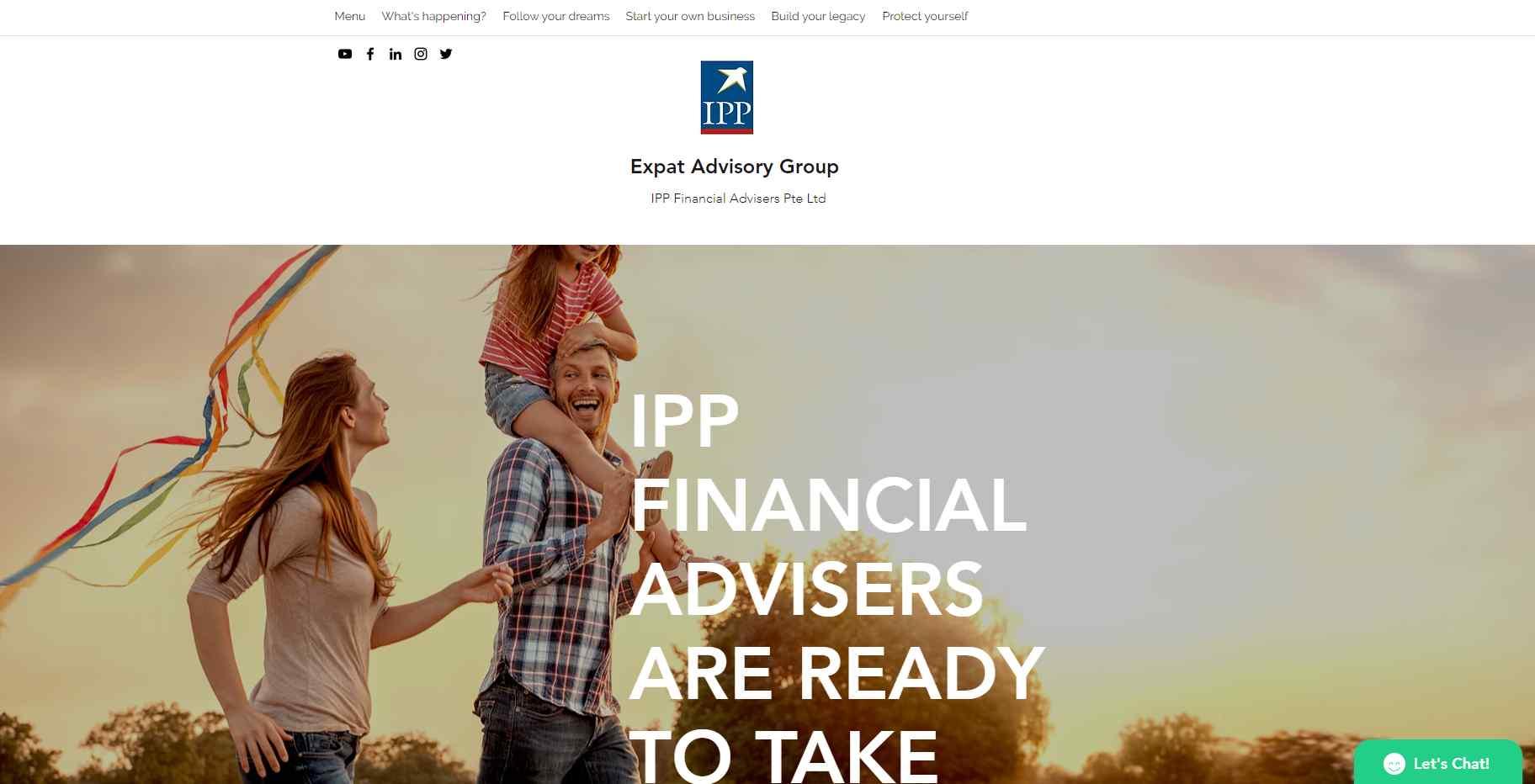 ipp Top Financial Advisors in Singapore