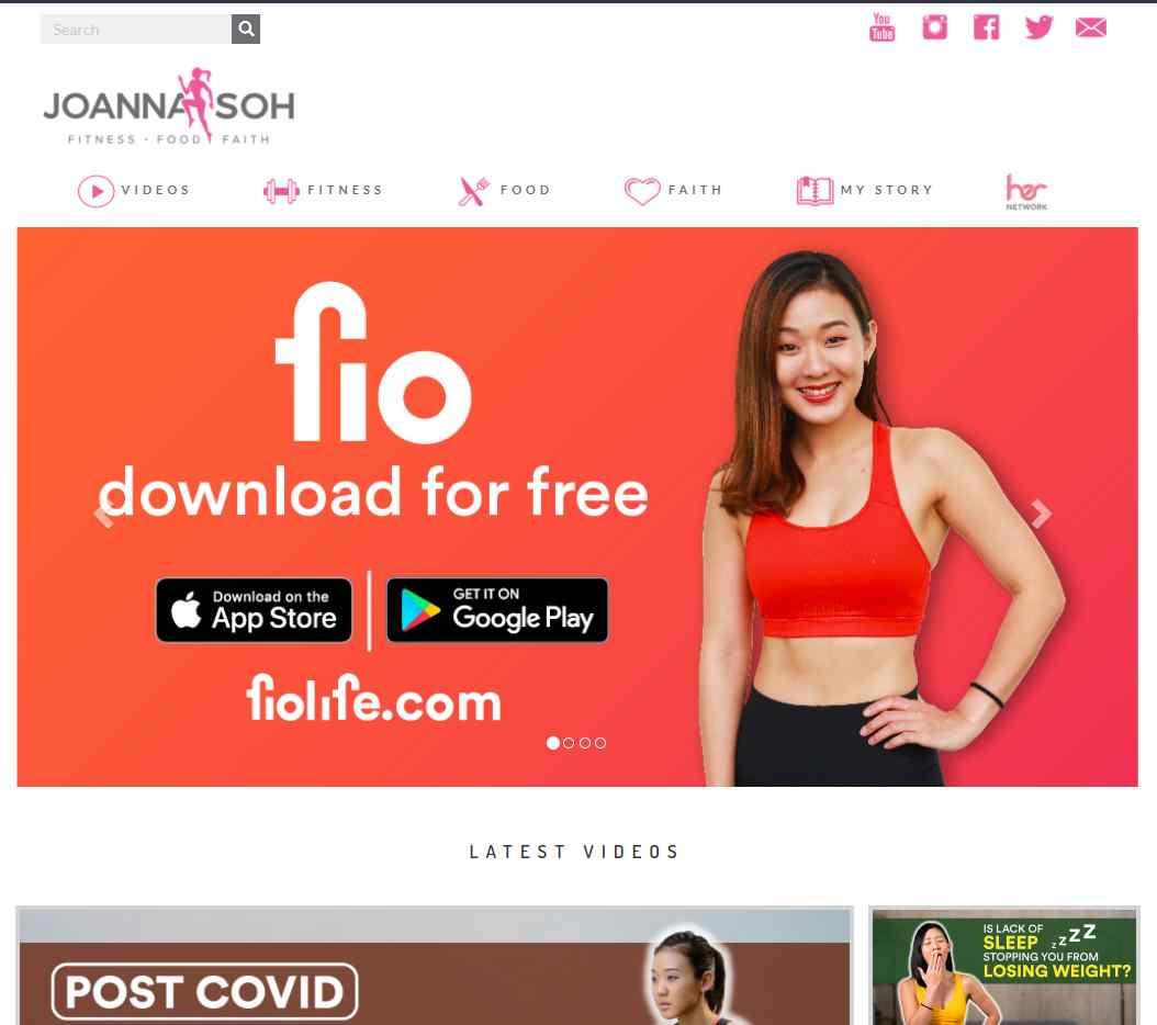 joanna soh Top Health Blogs in Singapore
