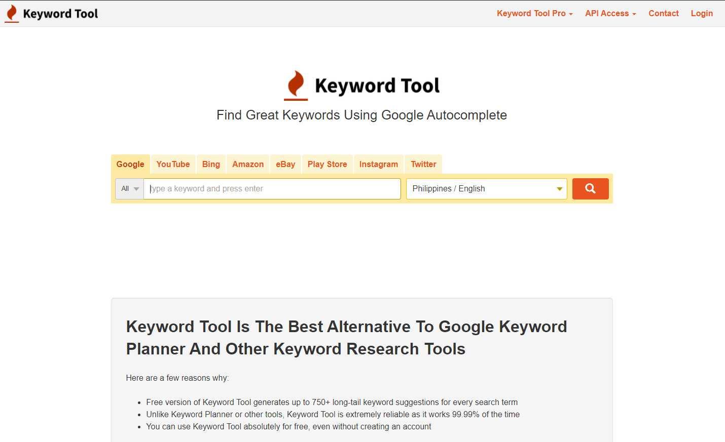 keyword tool Top 20 SEO Friendly WordPress Plugins