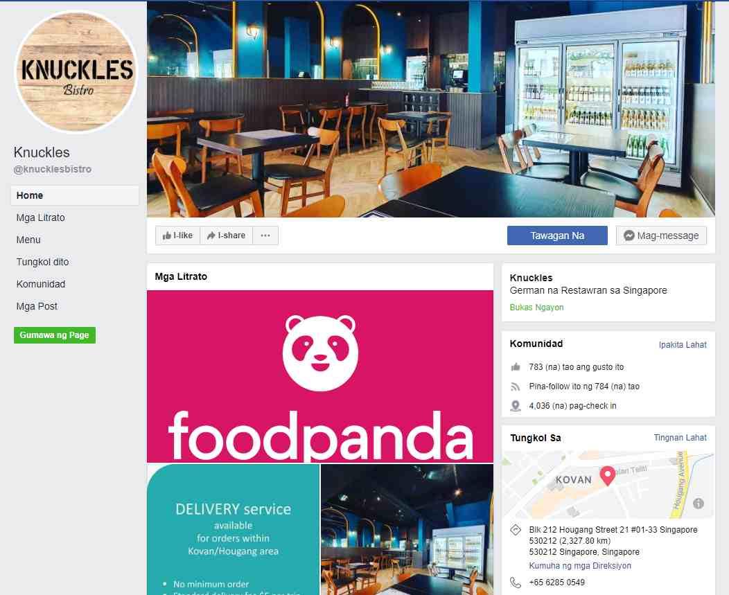 knuckles Top German Restaurants in Singapore
