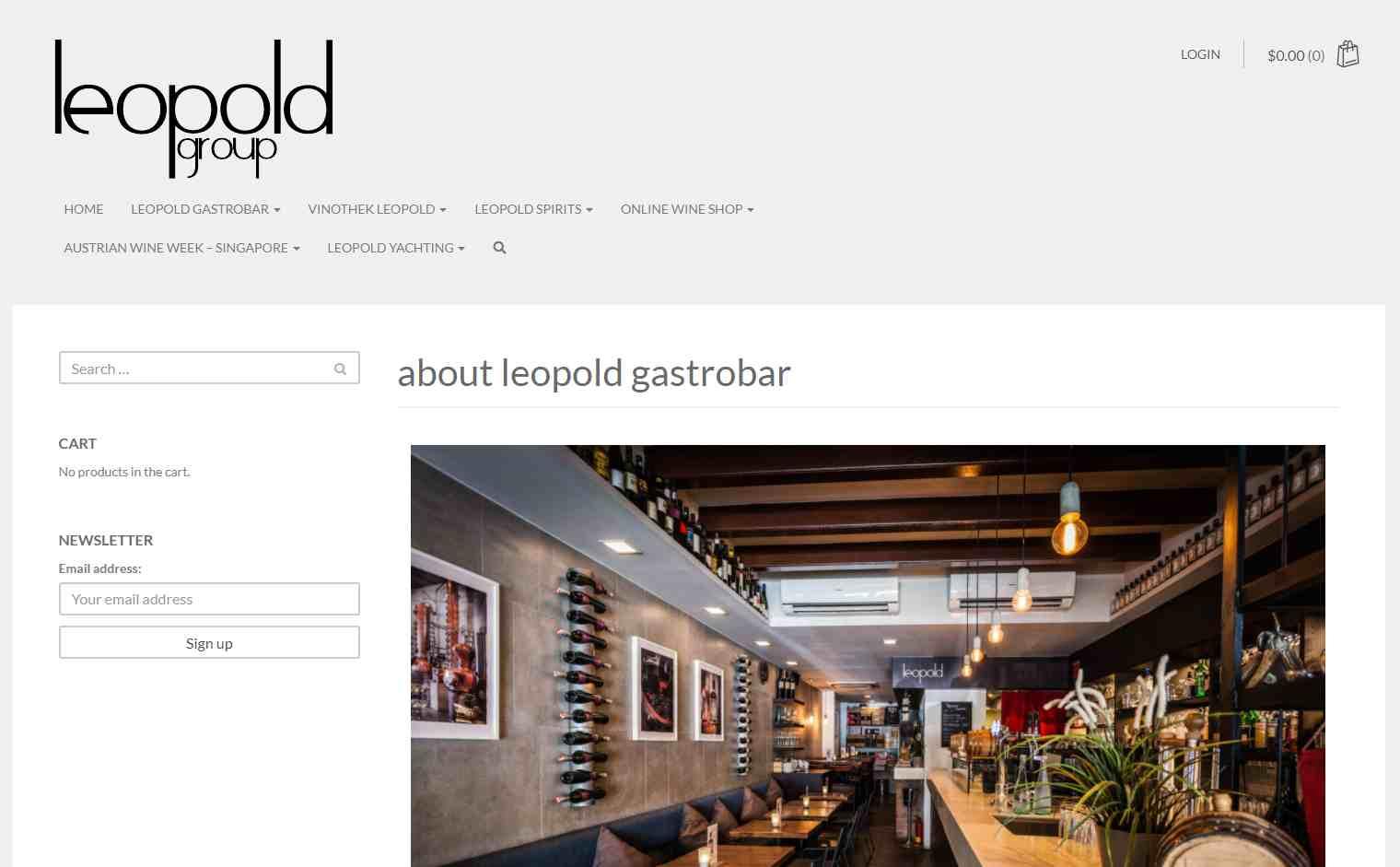 leopold Top German Restaurants in Singapore