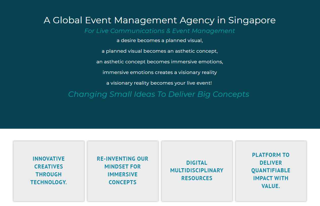macgyver intl Top Event Management Companies in Singapore