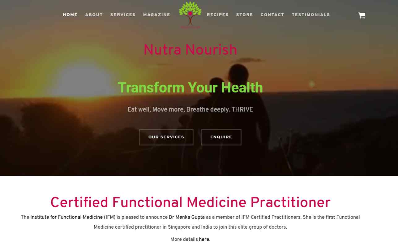 nutra nourish Top Dieticians in Singapore