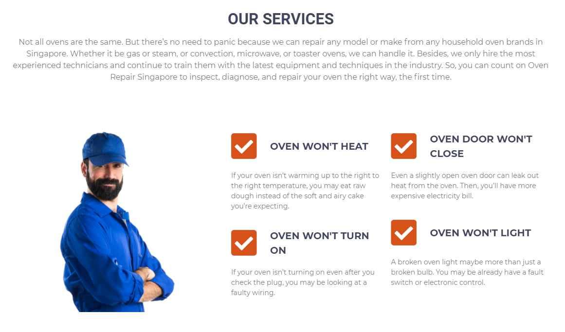 oven repair singapore Top Oven Repairs Services in Singapore