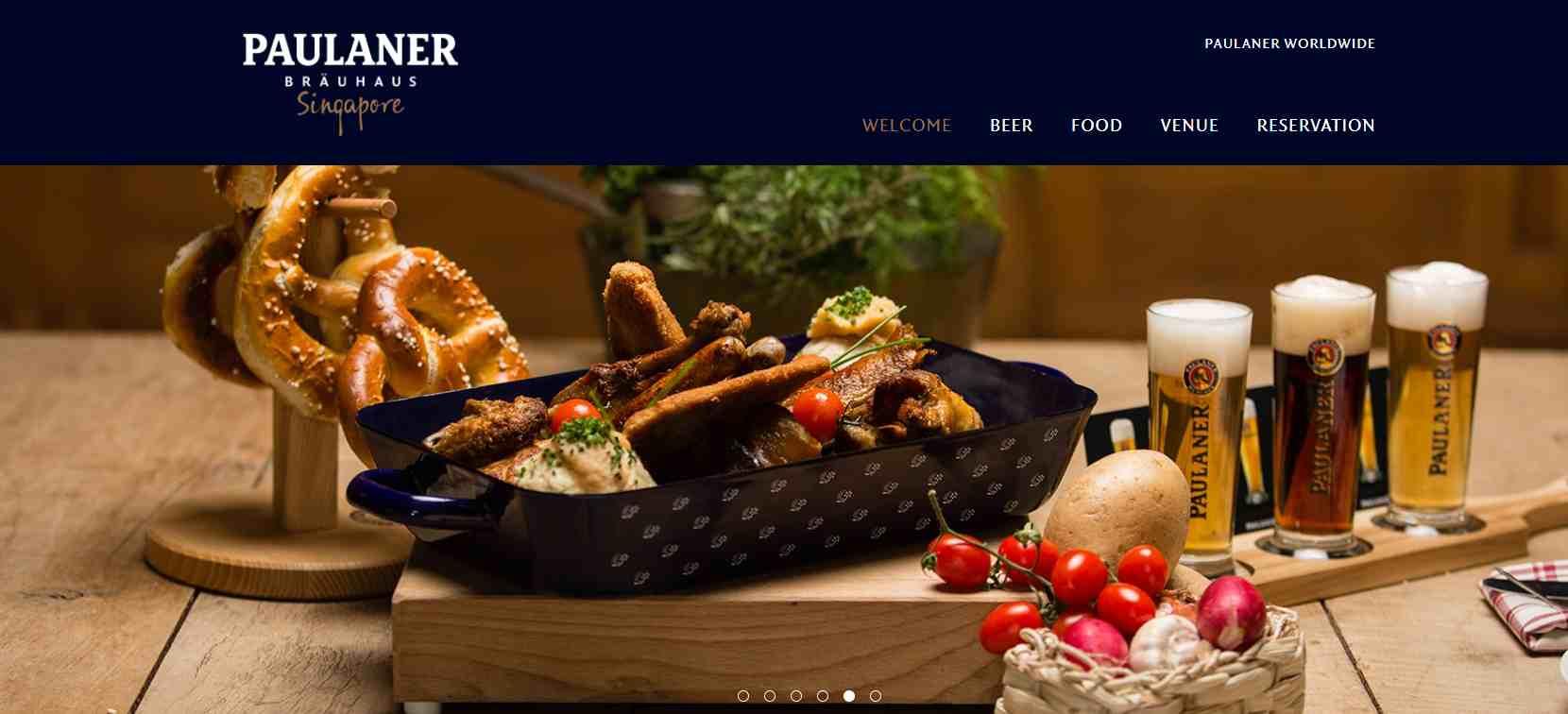 paulaner Top German Restaurants in Singapore
