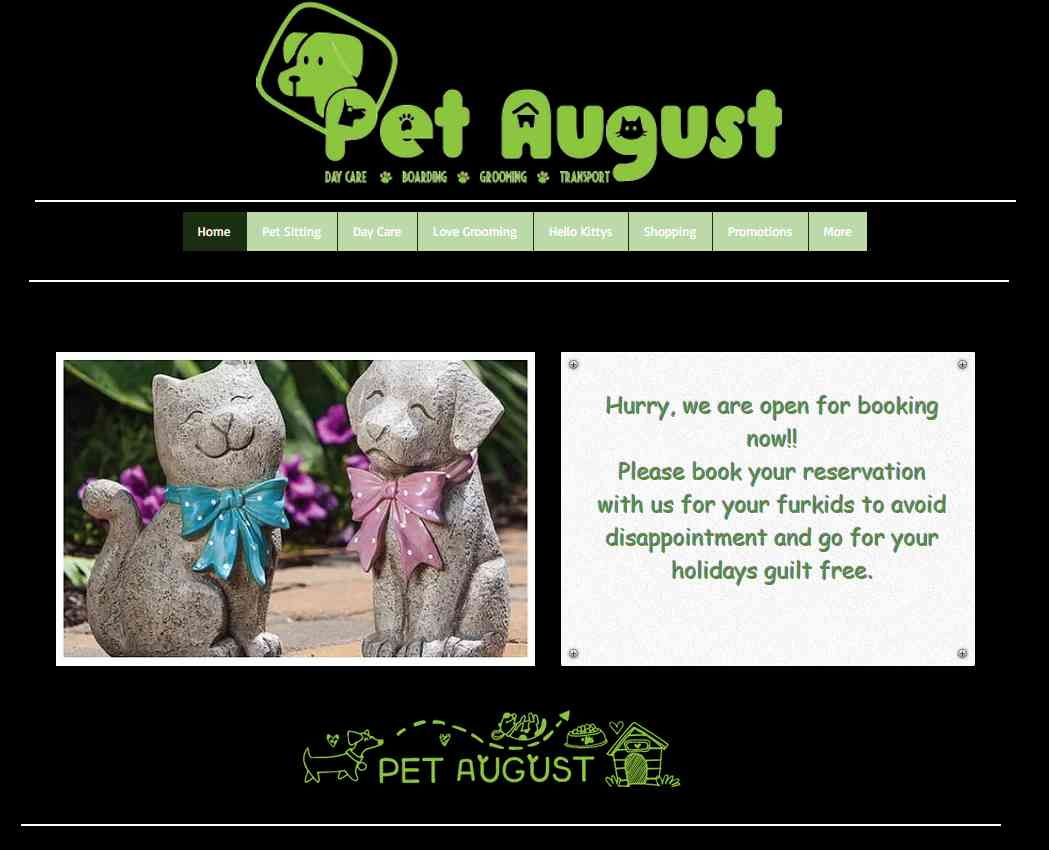 pet august Top Dog Boarding Services in Singapore