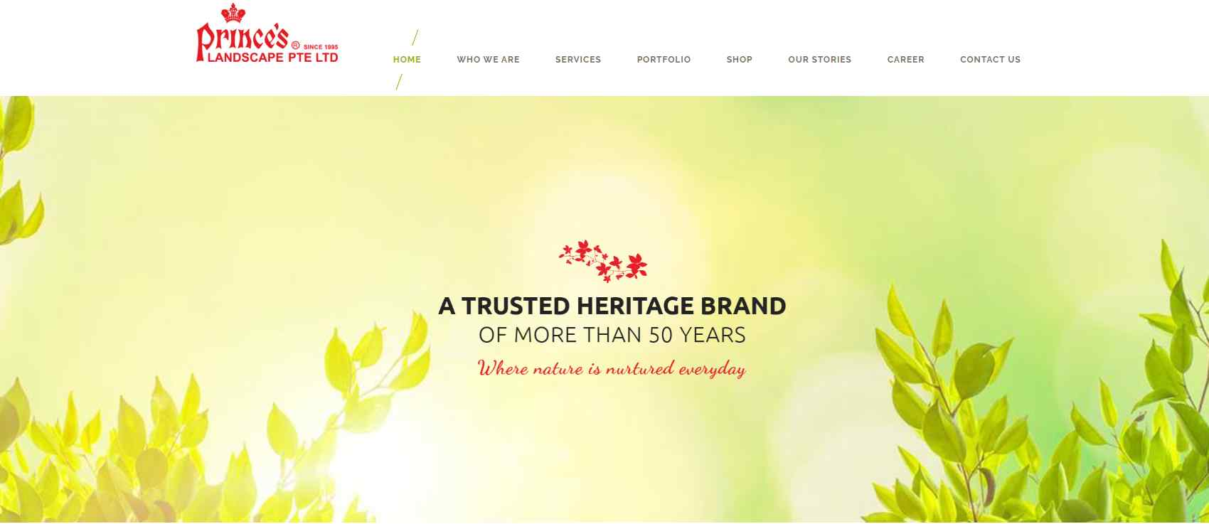prince landscape Top Horticulture Services in Singapore