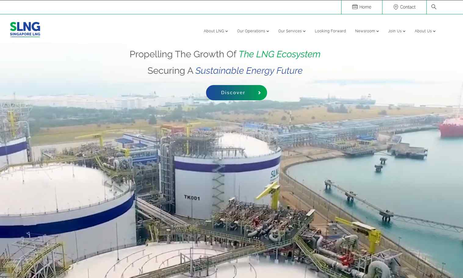 slng Top Natural Gas Service Providers in Singapore