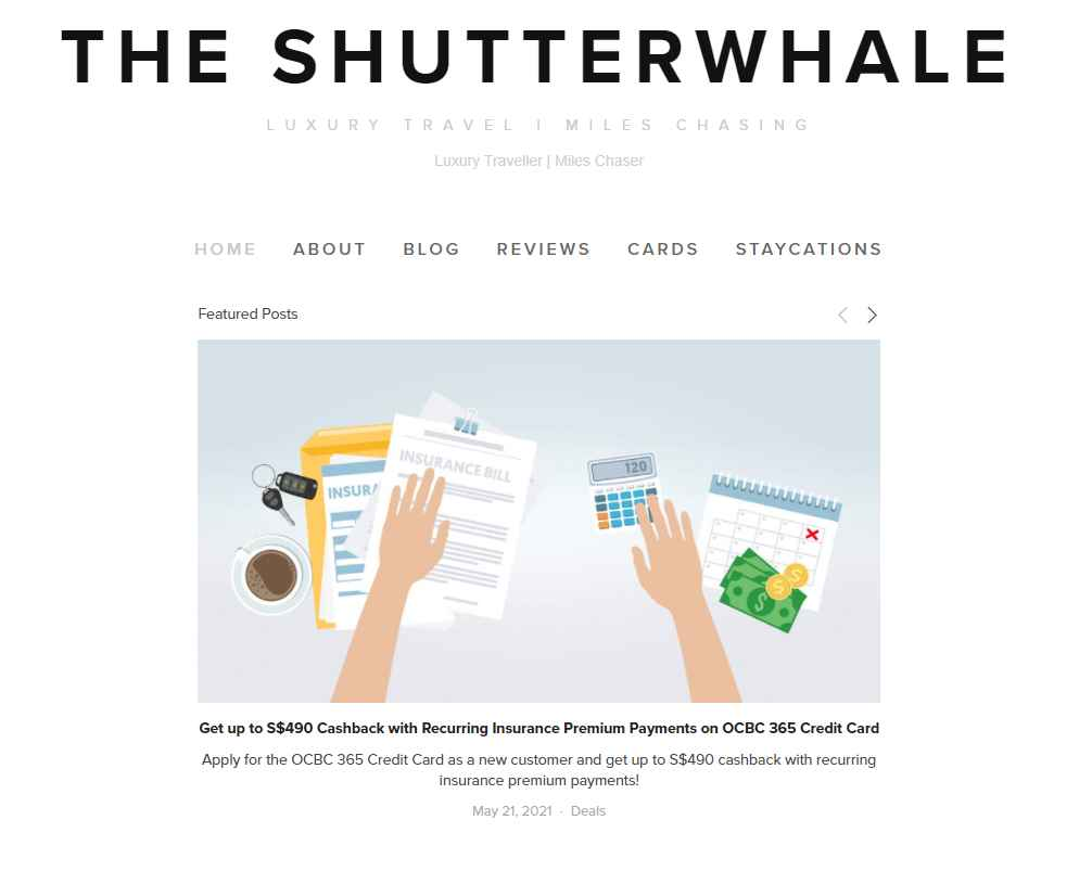 the shutterwhale Top Travel Blogs in Singapore