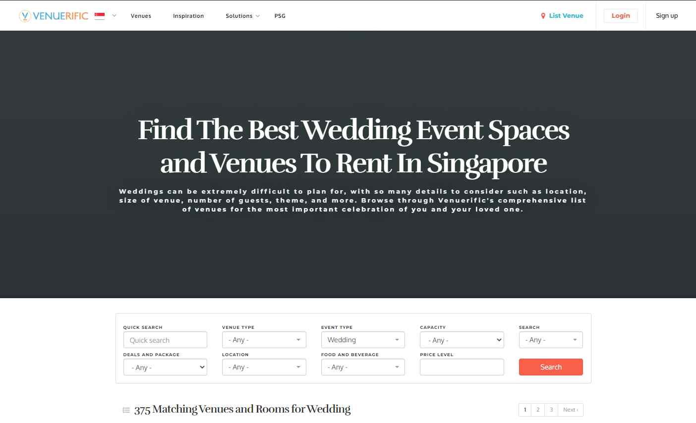 venue rific Top Event Management Companies in Singapore