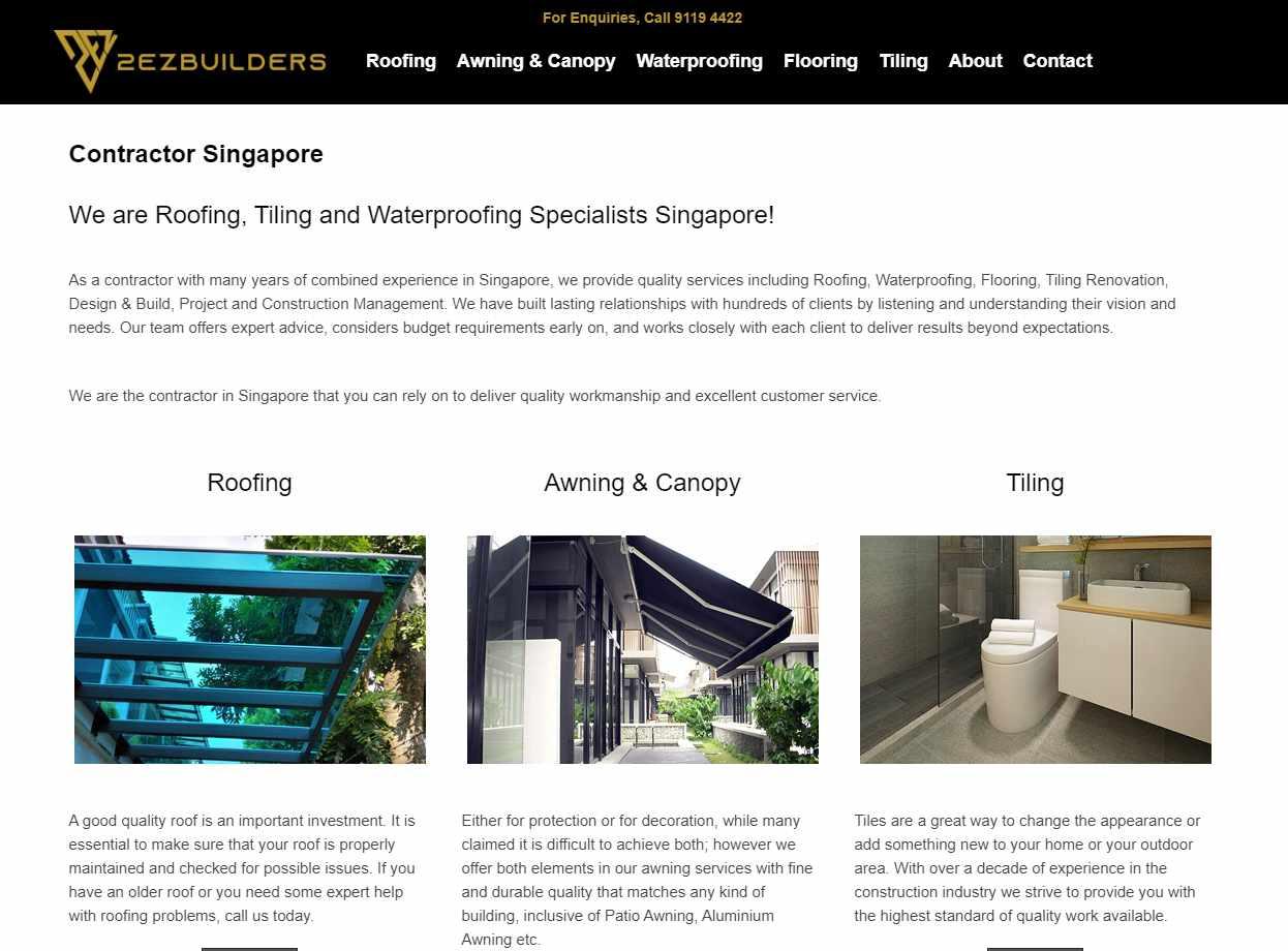 2ex builders Top Epoxy Flooring Provider in Singapore