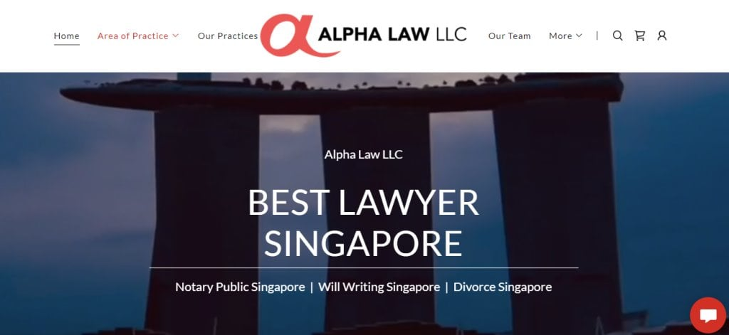 Alpha Law Top Family Lawyers in Singapore