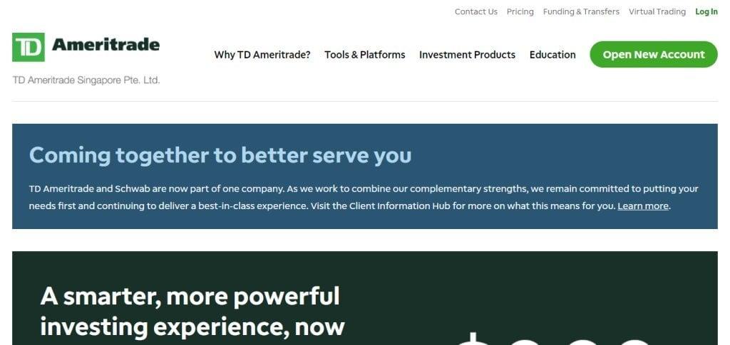 Ameritrade Top Online Trading Platforms in Singapore