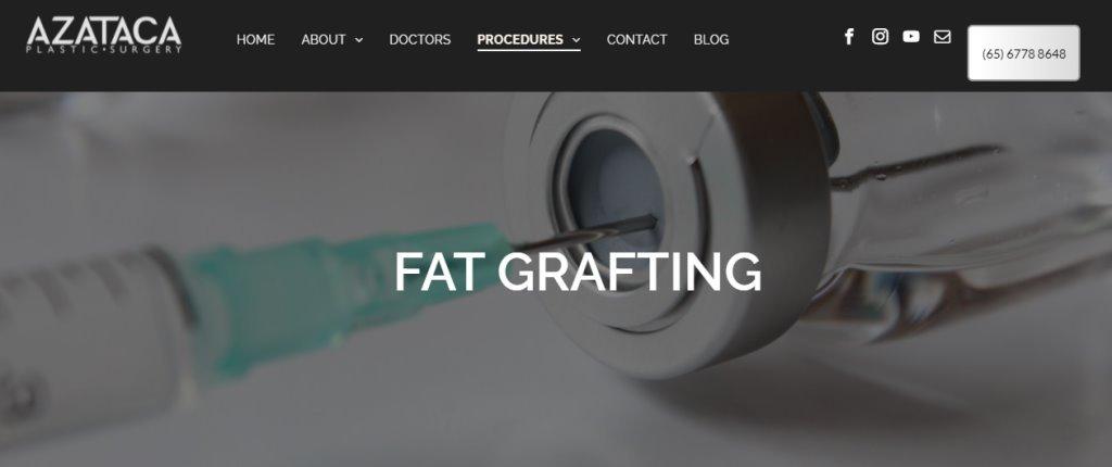 Azataca Top Fat Grafting Services in Singapore