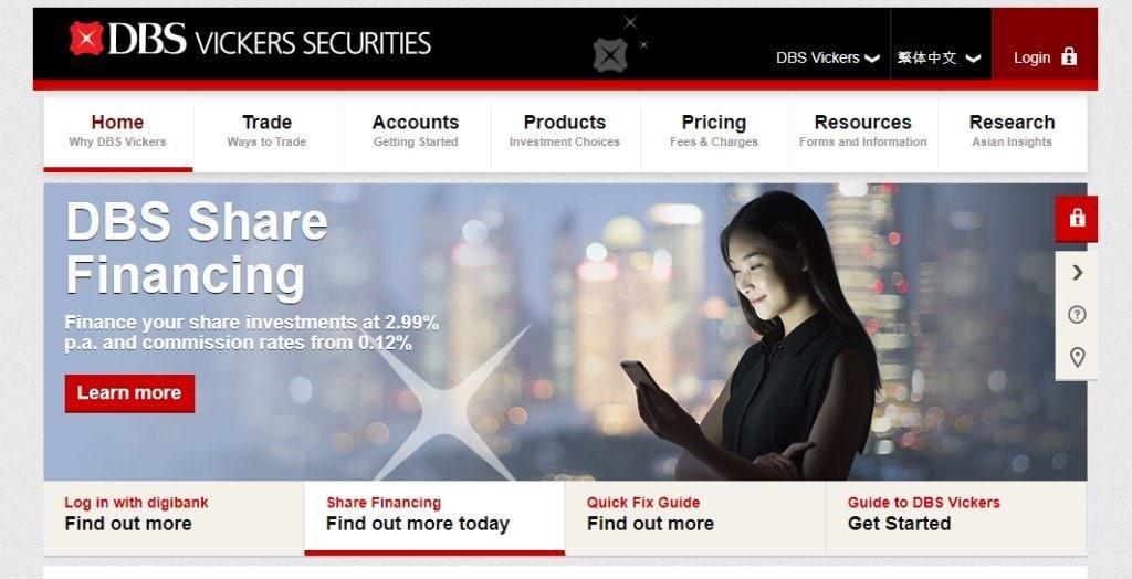 DBS Top Online Trading Platforms in Singapore