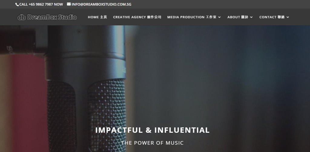 Dreambox Studio Top Music Production Service Providers in Singapore