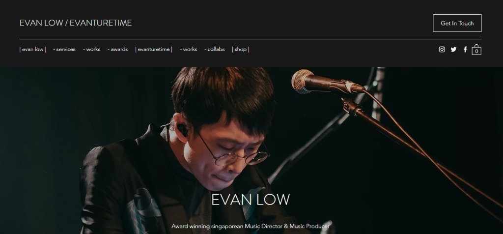 Evan Low Top Music Production Service Providers in Singapore