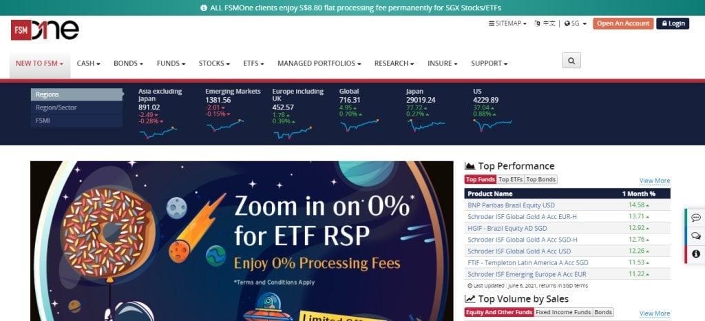 FSM Top Online Trading Platforms in Singapore