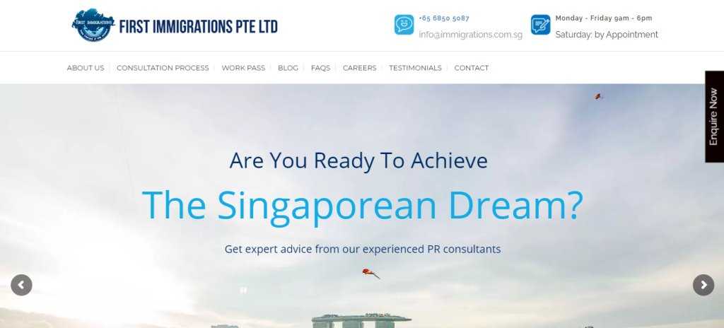 First Immigrations Pte Ltd Top Immigration Lawyers in Singapore