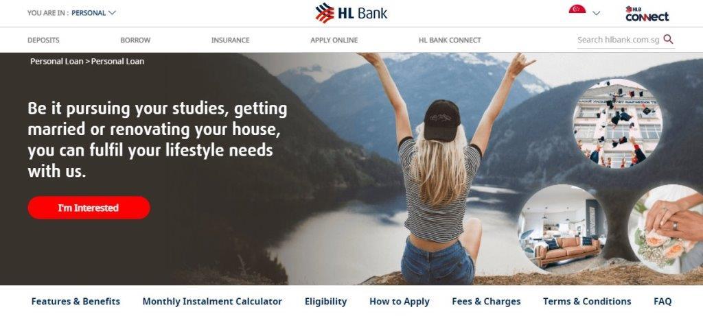 HL Bank Top Bank Loans in Singapore