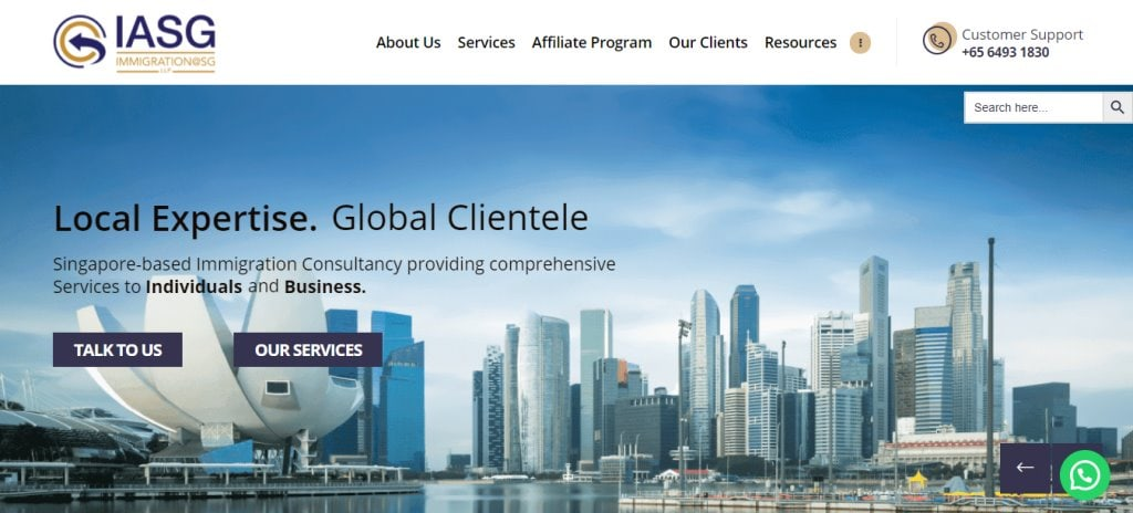 IASG Top Immigration Lawyers in Singapore