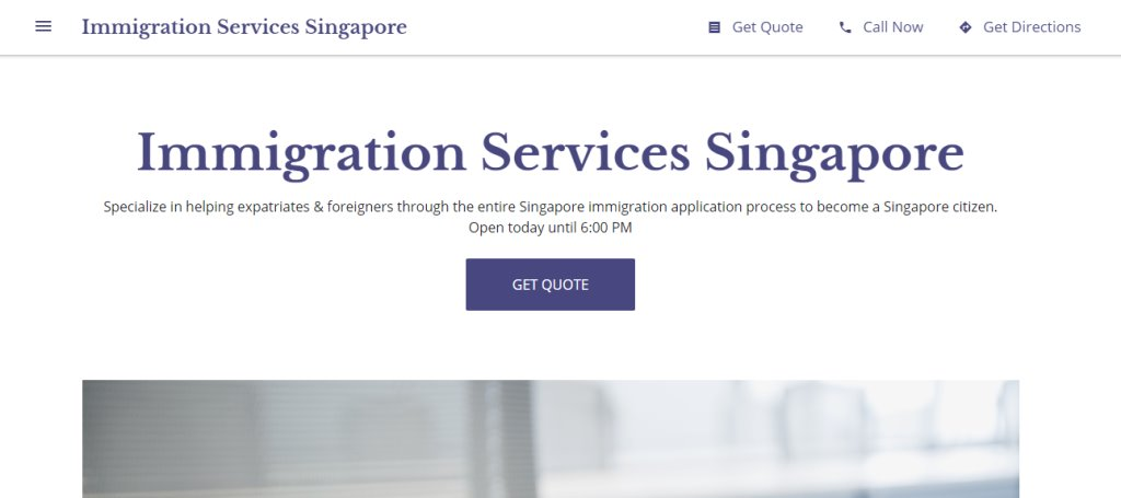 Immigration Service SG Top Immigration Lawyers in Singapore