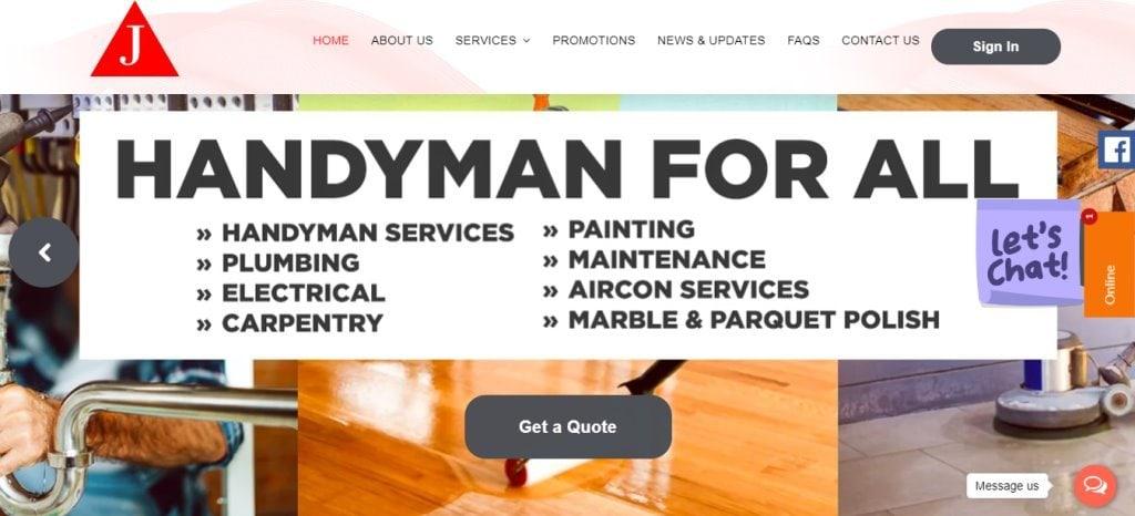 Joydom Top Carpentry Service Providers in Singapore