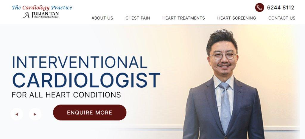 Julian Tan Heart Top Heart Surgeons in Singapore