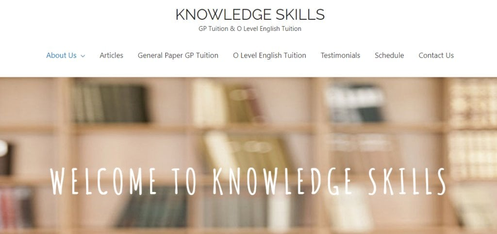 Knowledge Skills Top General Paper Tuitions in Singapore