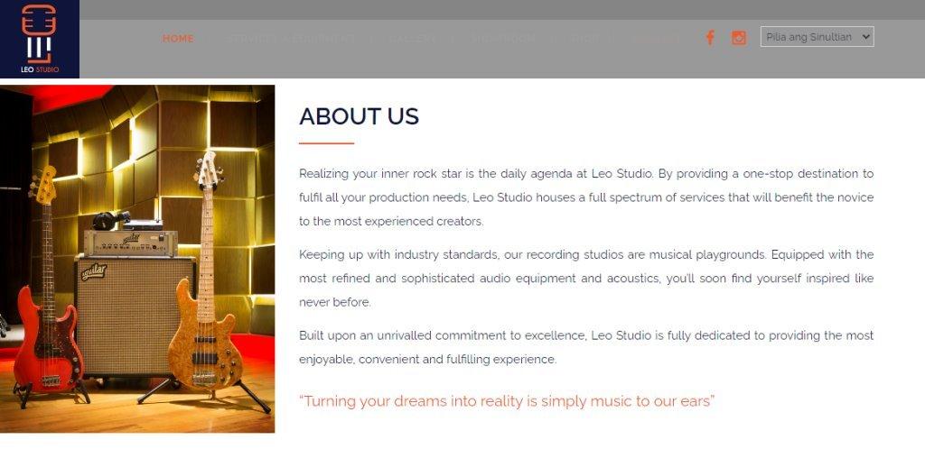 Leo Studio Top Music Production Service Providers in Singapore