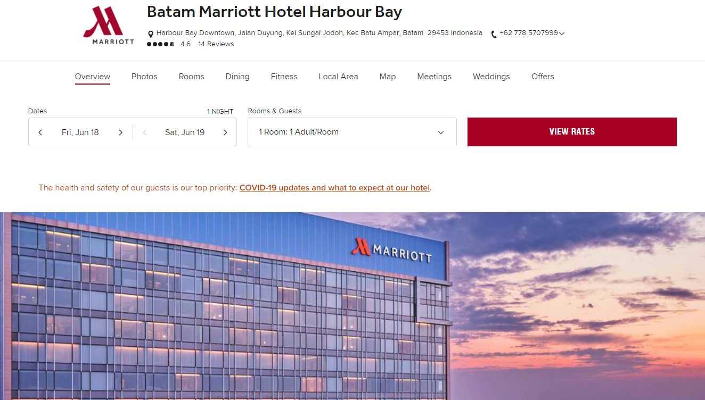 Marriott Hotel Top Batam Hotels and Resorts
