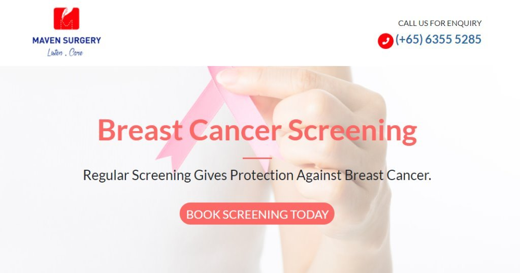 Maven Surgery Top Breast Cancer Screening Services in Singapore