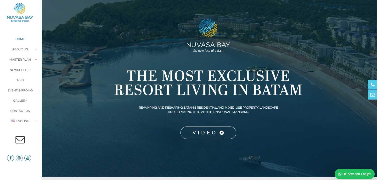 Nuvasa Bay Top Batam Hotels and Resorts