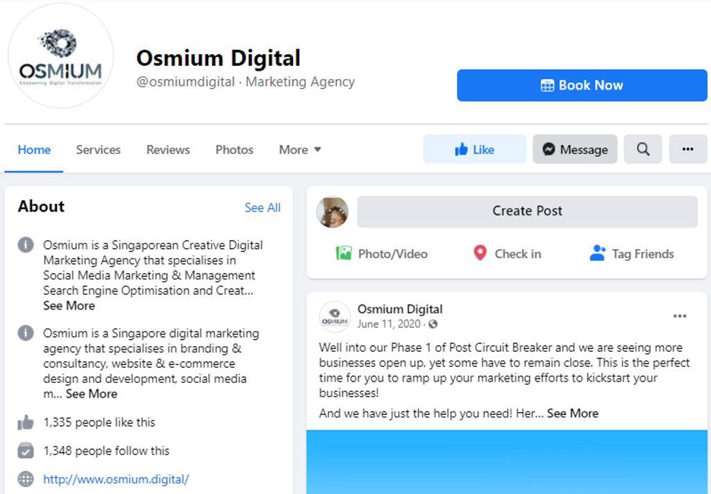 Osmium Digital Top Graphic Designers in Singapore