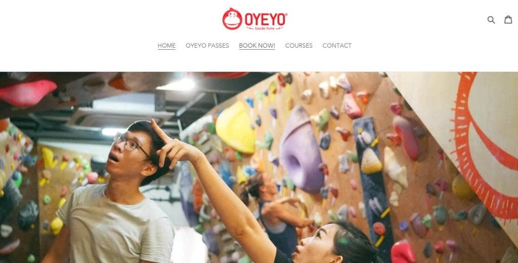 Oyeyo Top Rock Climbing Gyms in Singapore