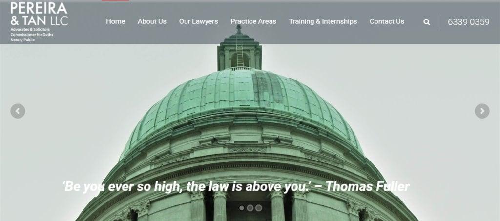 Pereira LA Top Family Lawyers in Singapore