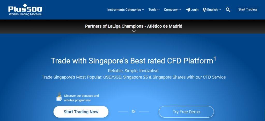 Plus 500 Top Online Trading Platforms in Singapore