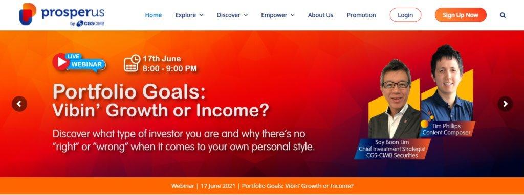 Prosperus Top Online Trading Platforms in Singapore